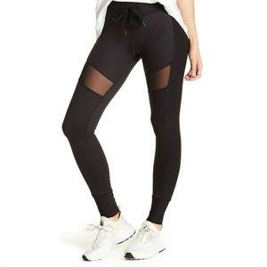 X By Gottex Chintz Fuel Drawcord Mesh Leggings